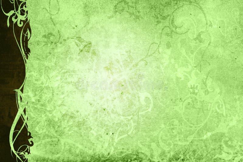 Fundo floral do estilo ilustração do vetor