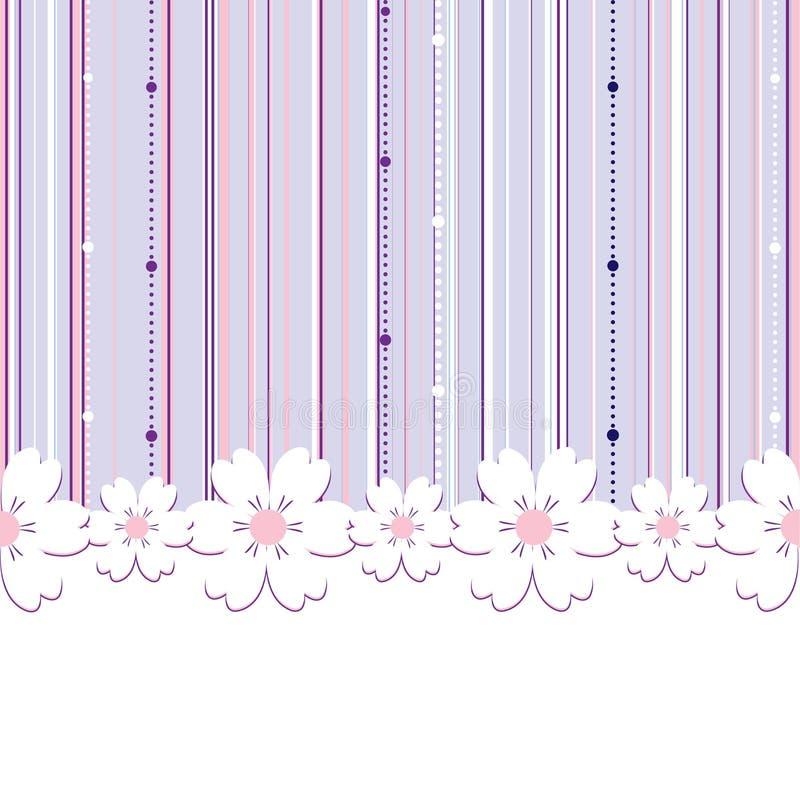 Fundo floral do verão ilustração stock