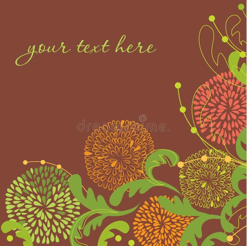 Download Fundo floral do vintage ilustração stock. Ilustração de creativo - 16860419