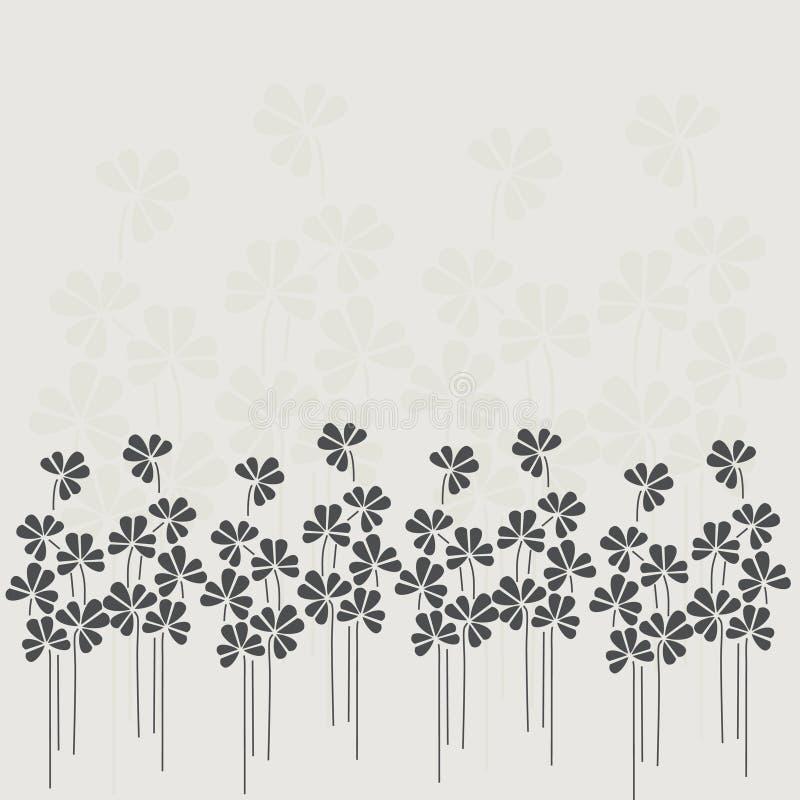 Fundo floral. Ilustração bonita do vetor. ilustração royalty free