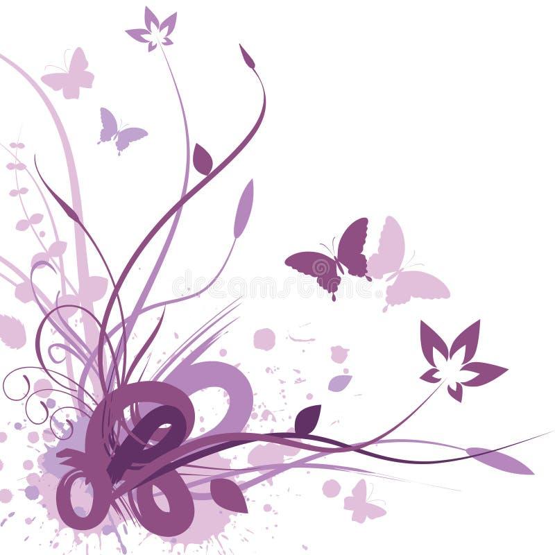 Fundo floral, ilustração do vetor ilustração royalty free