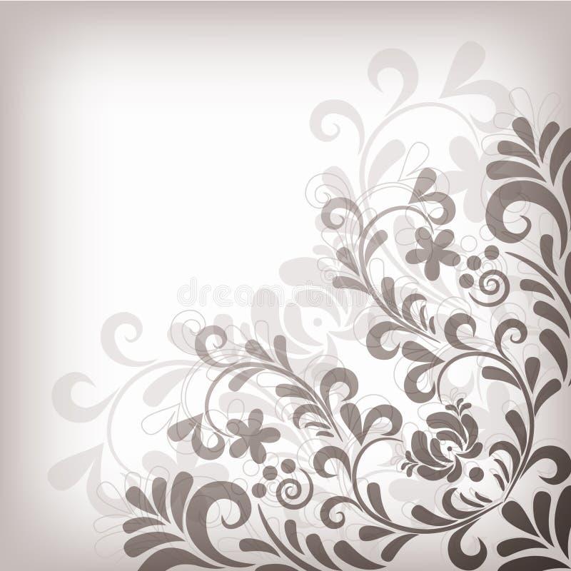 Fundo floral macio ilustração royalty free