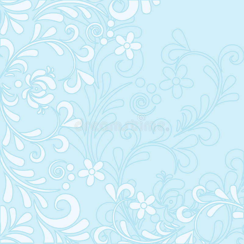 Fundo floral macio ilustração stock