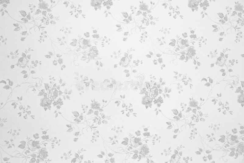 Fundo floral nostálgico com rosas  imagem de stock royalty free