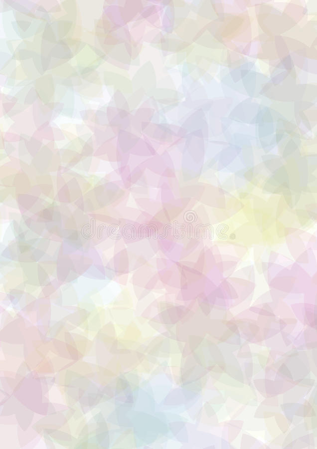 Fundo floral Pastel ilustração stock