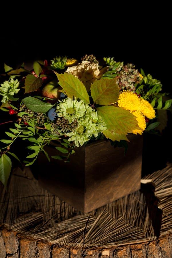 Fundo floral surpreendente com raios do sol foto de stock royalty free