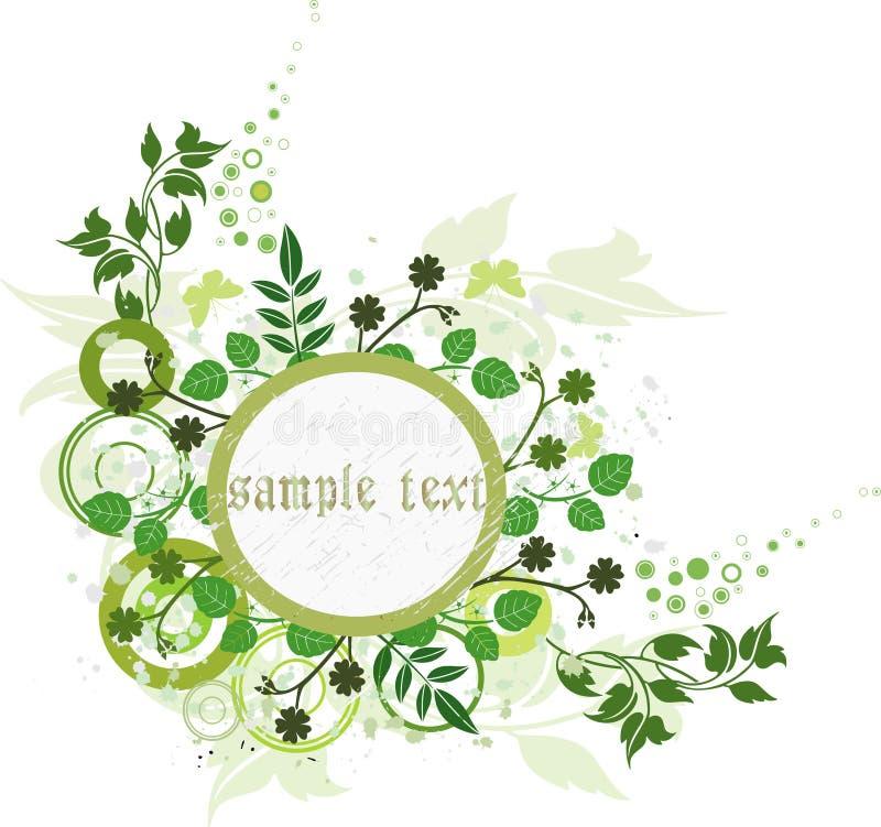 Fundo floral - vetor ilustração stock