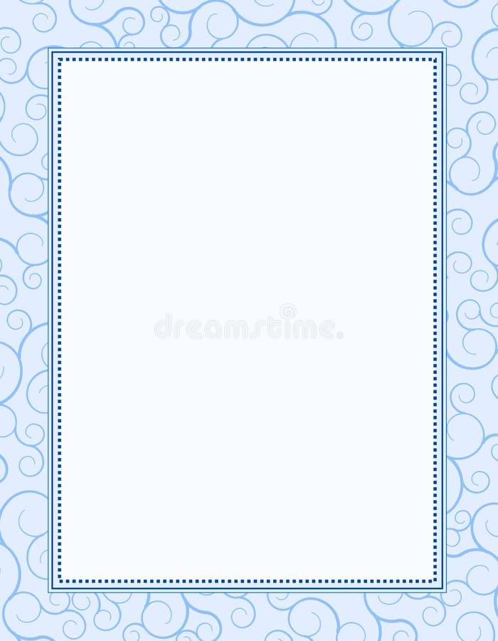 Fundo/frame do convite ilustração royalty free
