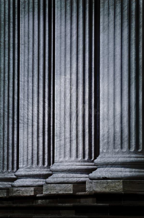 Fundo fresco da coluna de Grunge foto de stock royalty free