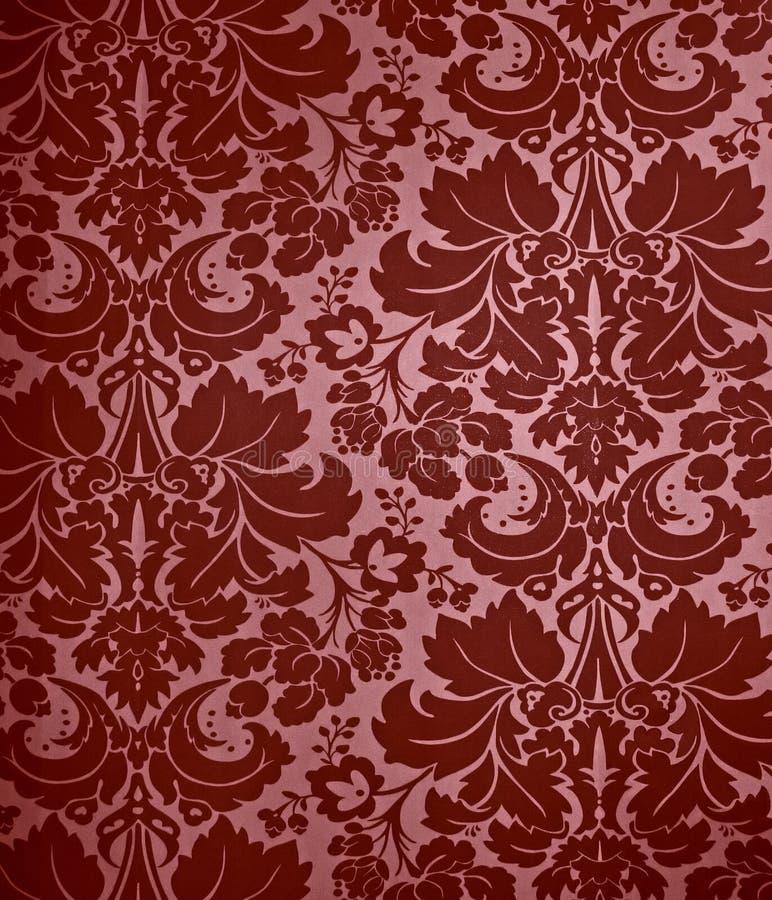 Fundo gótico sem emenda do papel de parede do damasco fotografia de stock royalty free