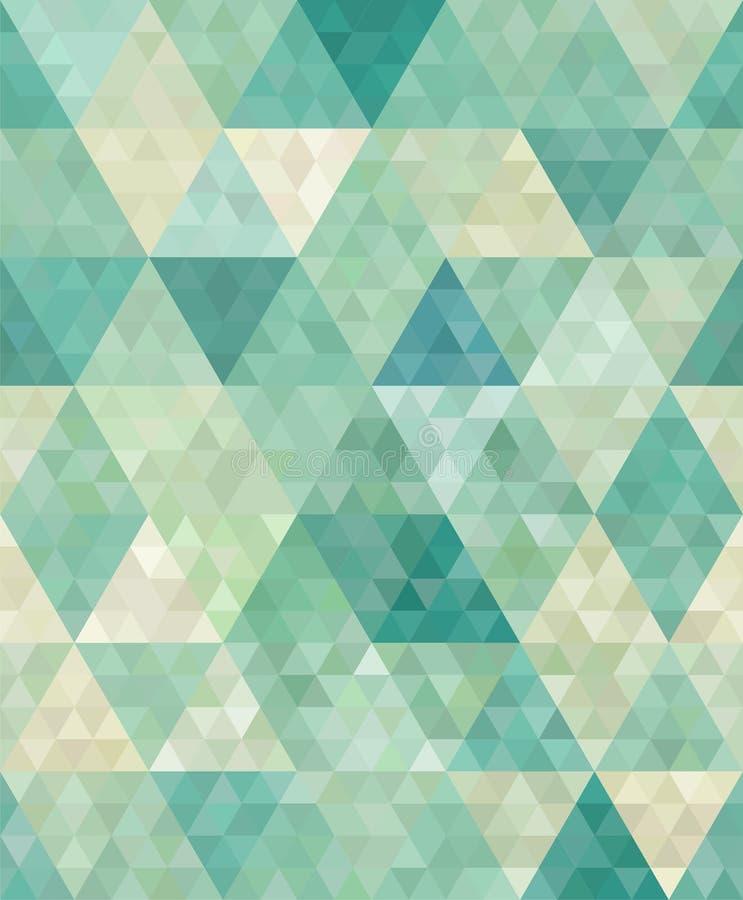 Fundo geométrico ilustração royalty free