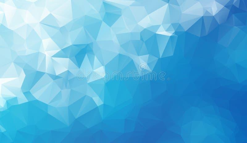 Fundo geométrico abstrato com polígono Composição dos gráficos da informação com formas geométricas Projeto retro da etiqueta ilustração do vetor