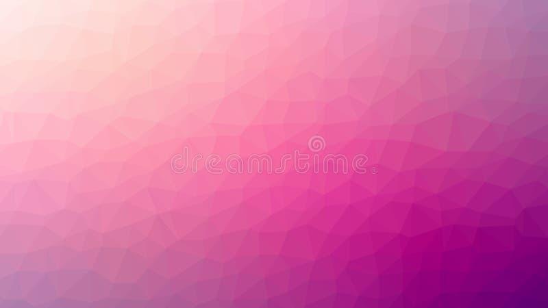 Fundo geométrico abstrato com polígono triangular, baixo poli ilustração stock