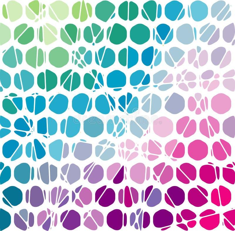 Fundo geométrico abstrato do mosaico. Vetor Illus ilustração do vetor