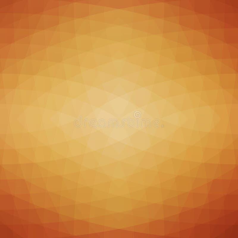 Fundo geométrico abstrato do vetor ilustração stock