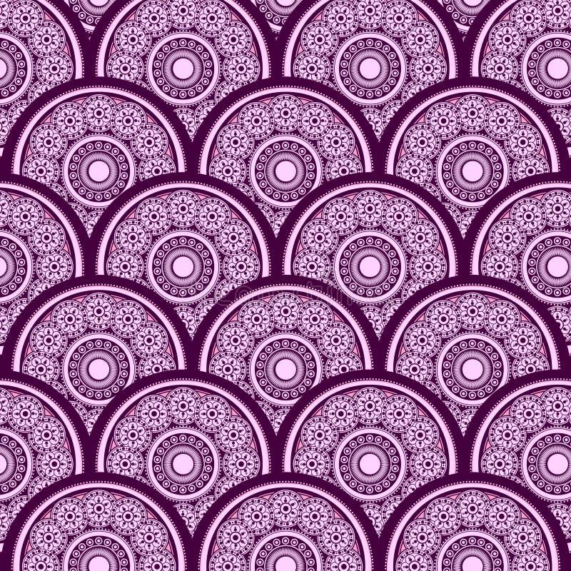 Fundo geométrico abstrato do vetor ilustração do vetor