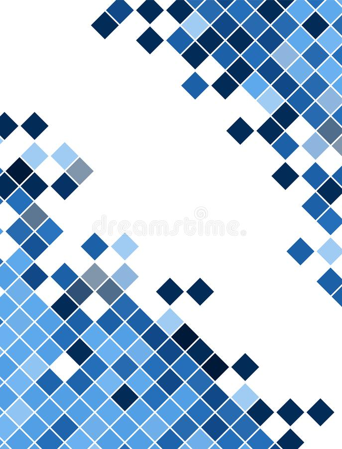 Fundo geométrico abstrato dos cubos para seu projeto foto de stock