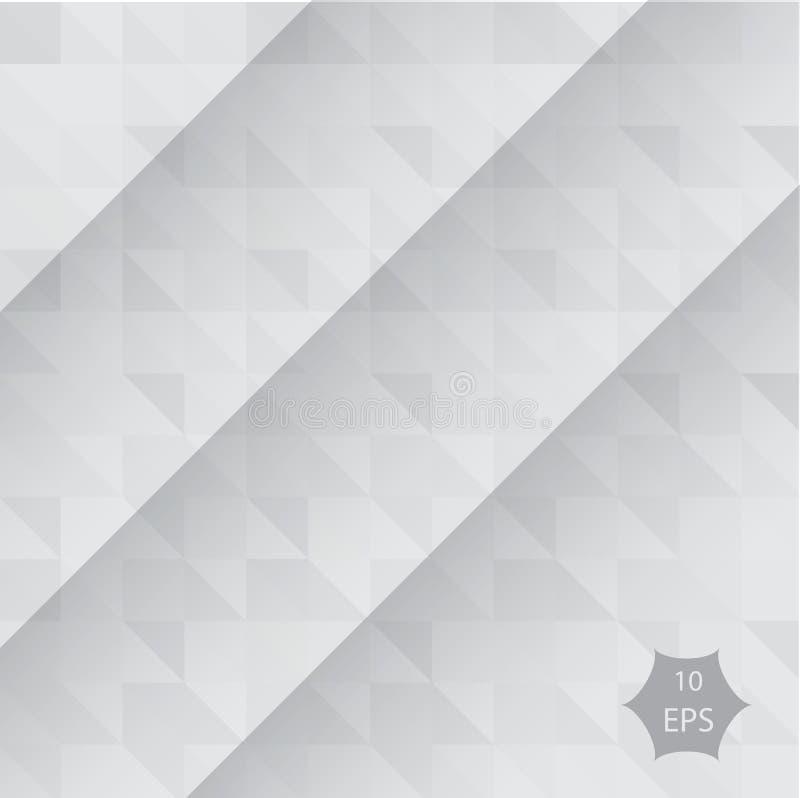 Fundo geométrico abstrato, vetor dos polígono, triângulo, ilustração do vetor, teste padrão do vetor, molde triangular ilustração royalty free