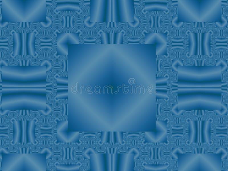 Fundo geométrico azul fotos de stock royalty free