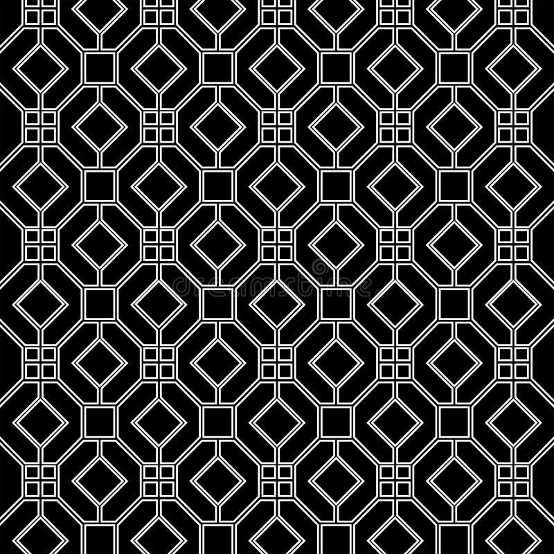 Fundo geométrico clássico tradicional do teste padrão foto de stock
