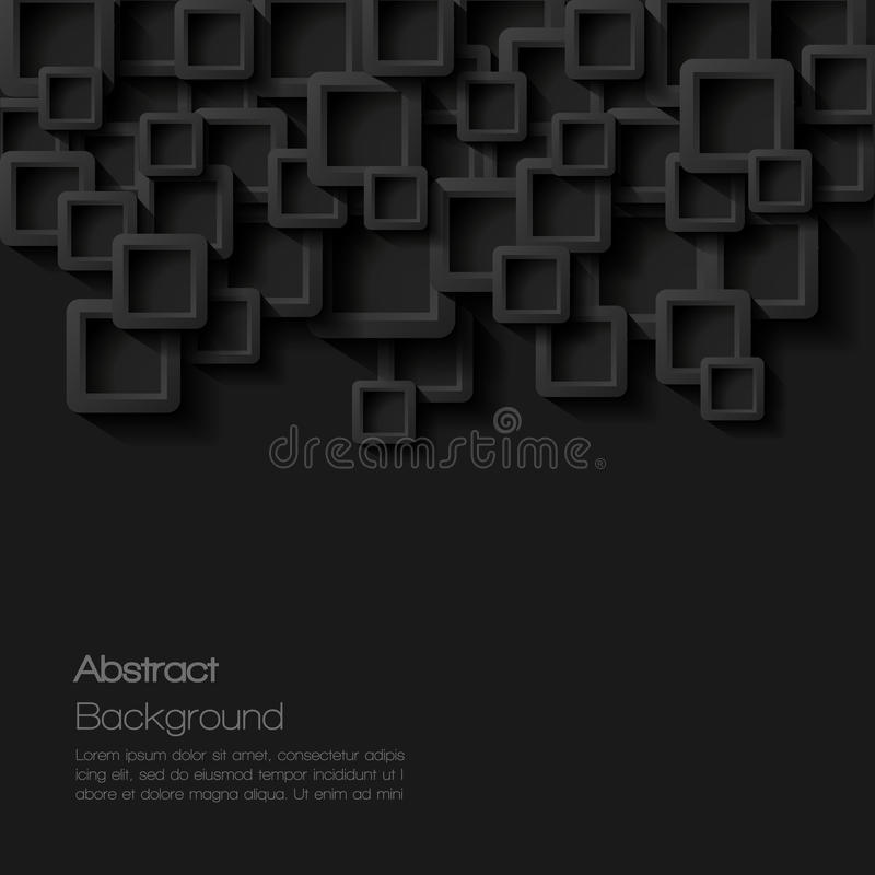 Fundo geométrico do estilo moderno abstrato ilustração stock