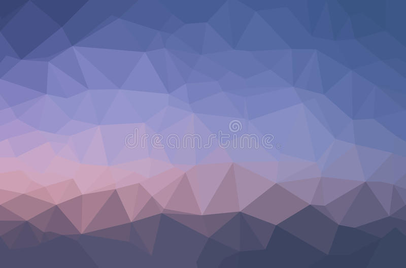 Fundo geométrico do polígono abstrato ilustração do vetor