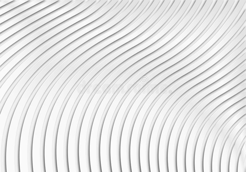 Fundo geométrico do teste padrão do Livro Branco ilustração royalty free