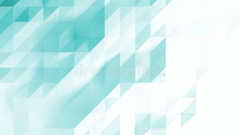Fundo geométrico dos triângulos abstratos ilustração do vetor