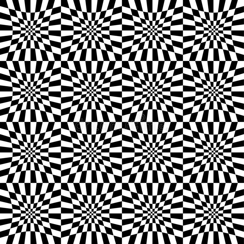 Fundo geométrico, mosaico dos retângulos, quadrados seamlessly ilustração do vetor