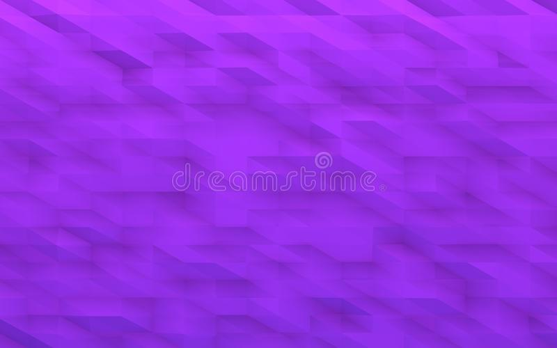 Fundo geométrico violeta fotografia de stock
