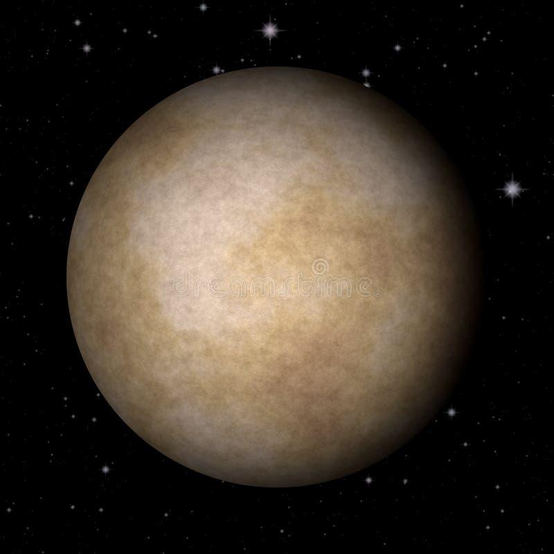 Fundo gerado da textura de Mercury planeta abstrato ilustração stock
