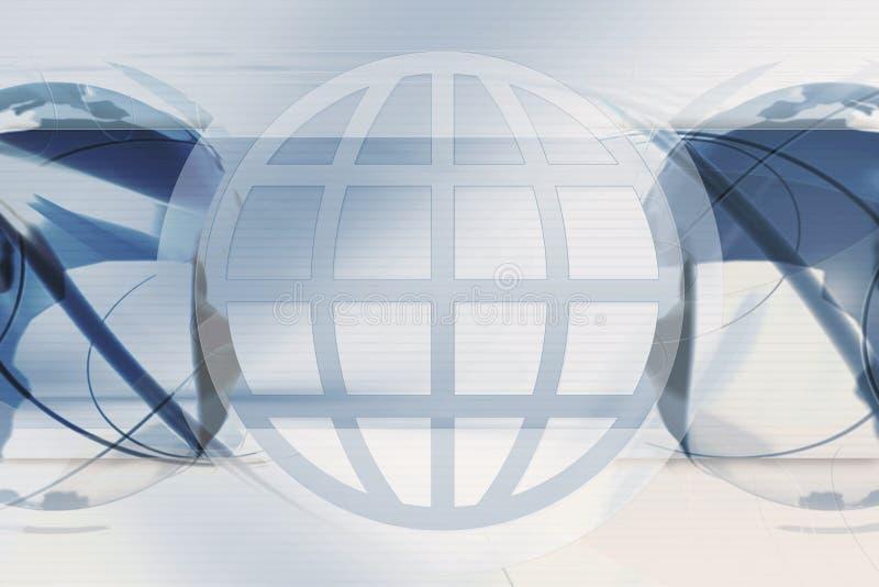 Fundo global ilustração royalty free