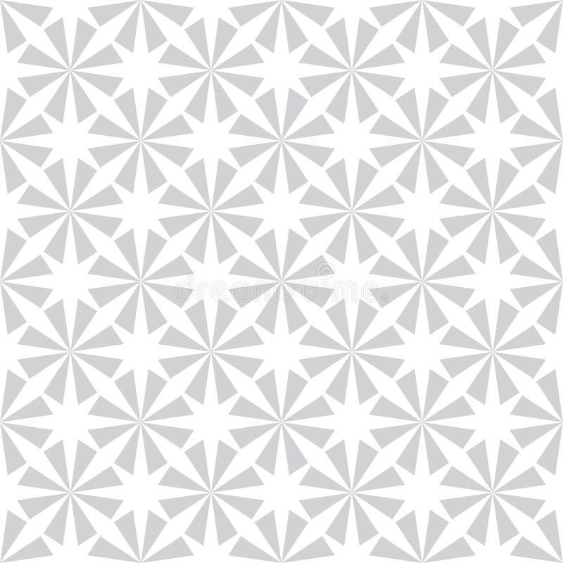 fundo gráfico árabe do teste padrão das estrelas geométricas ilustração do vetor