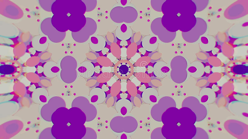Fundo gráfico calidoscópico pintado colorido abstrato Teste padrão hipnótico psicadélico futurista do contexto com ilustração royalty free