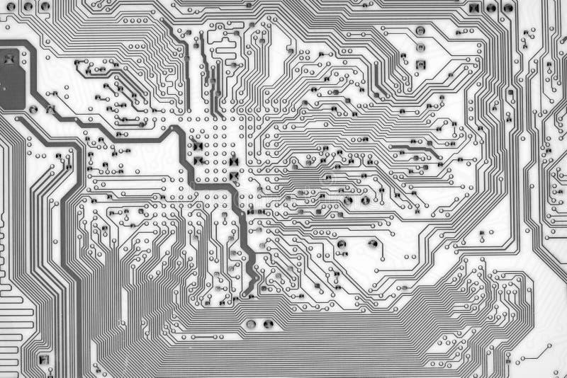 Fundo gráfico da placa de circuito no estilo alta tecnologia ilustração stock