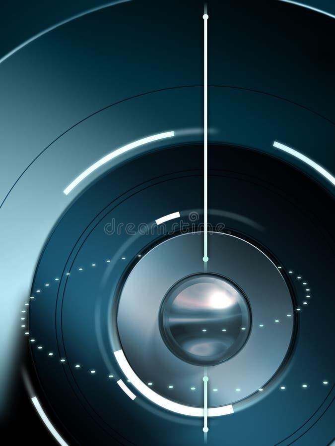 Fundo high-technology ilustração do vetor