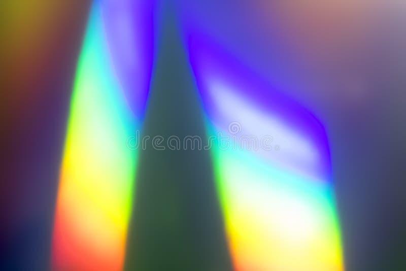 Fundo holográfico de prisma abstrato do arco-íris fotos de stock