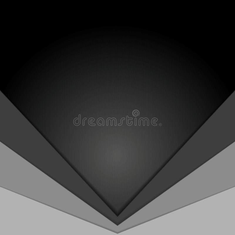 Fundo incorporado cinzento escuro da tecnologia ilustração royalty free