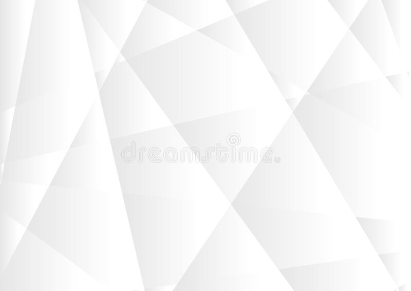 Fundo incorporado poligonal da olá!-tecnologia cinzenta abstrata ilustração do vetor