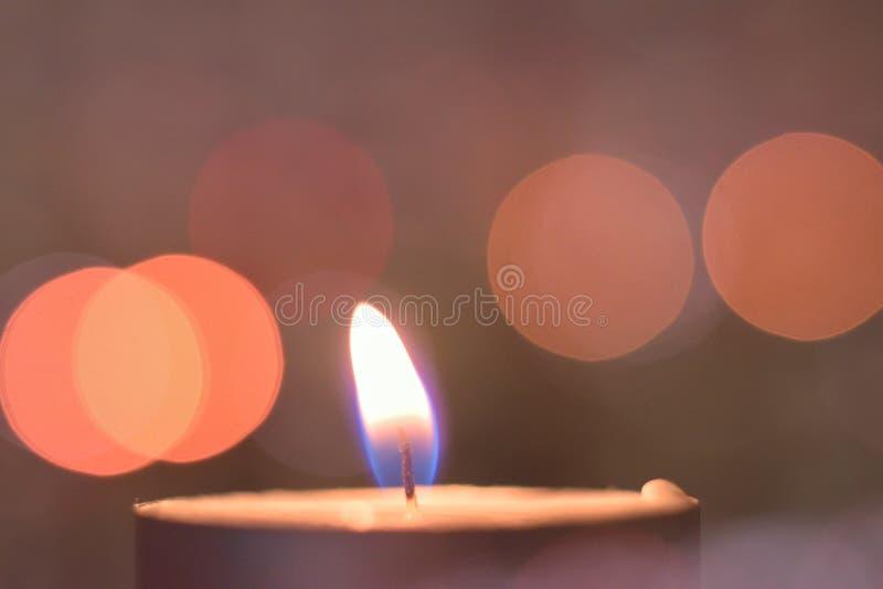Fundo indiano do feriado de Diwali de vela ardente fotos de stock