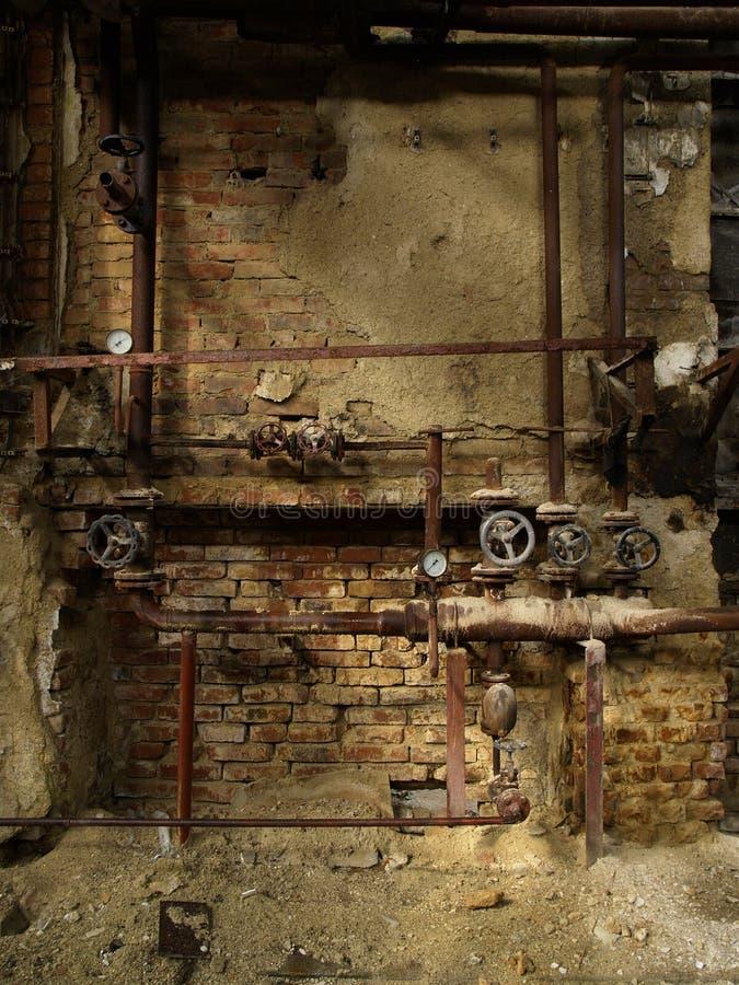 Fundo industrial foto de stock