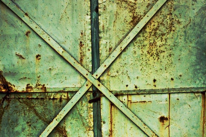 Fundo industrial oxidado imagem de stock