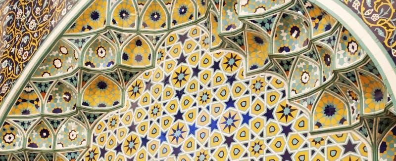 Fundo islâmico do motivo imagens de stock royalty free