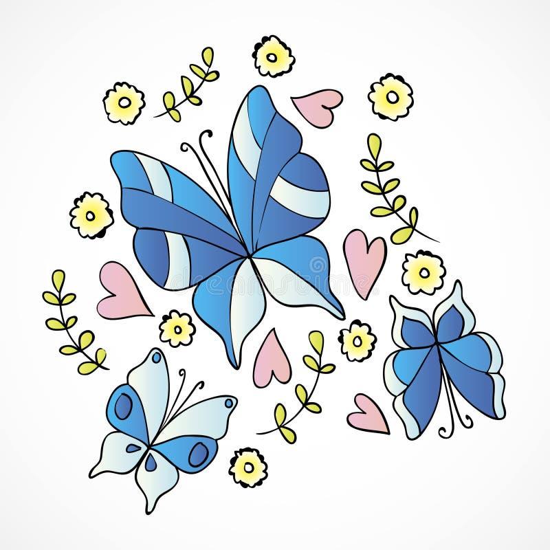 Download Borboleta ilustração do vetor. Ilustração de colorido - 29827169