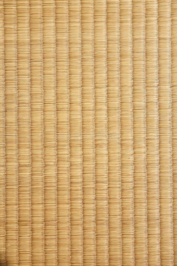 Fundo japonês da textura do tatami da esteira da palha imagem de stock royalty free