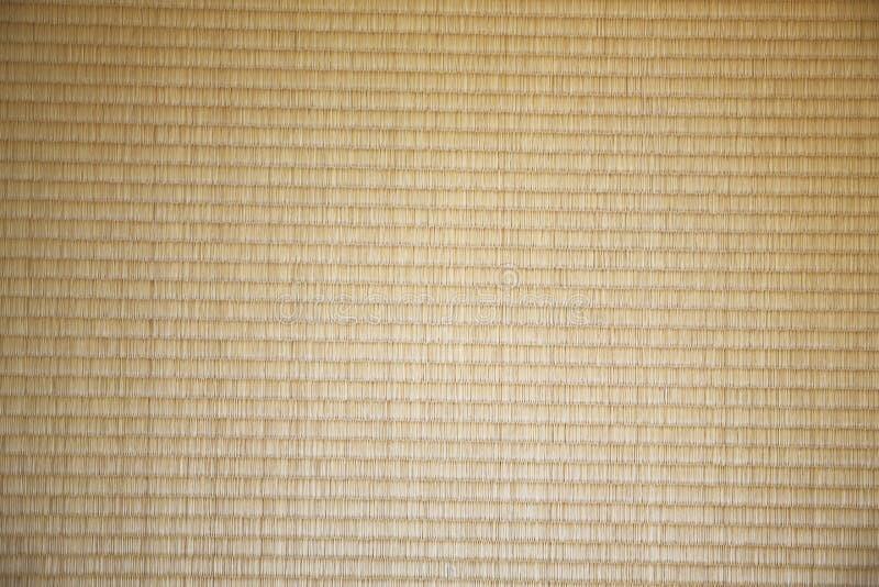 Fundo japonês da textura do tatami da esteira da palha imagens de stock royalty free