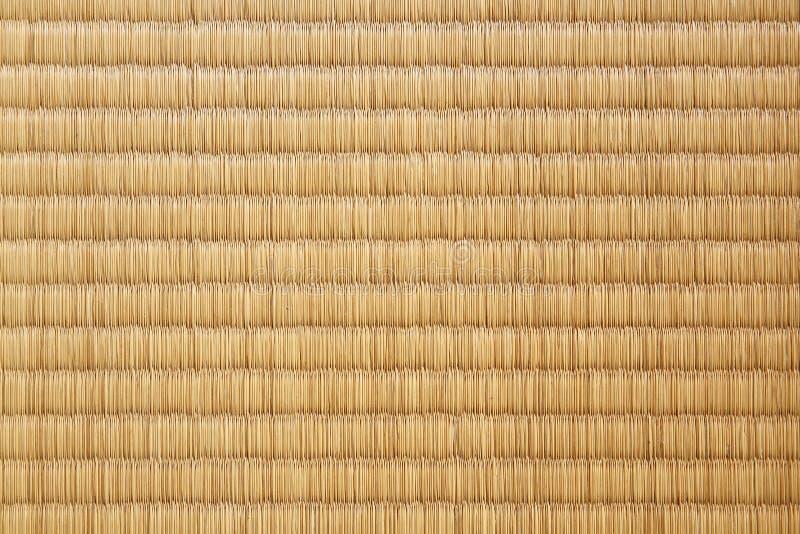 Fundo japonês da textura do tatami da esteira da palha fotos de stock royalty free