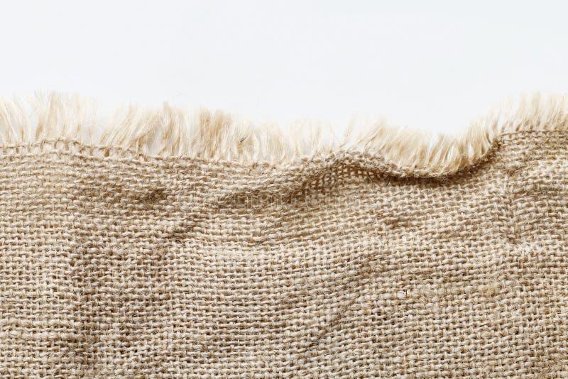 Fundo Jute Textil imagem de stock royalty free