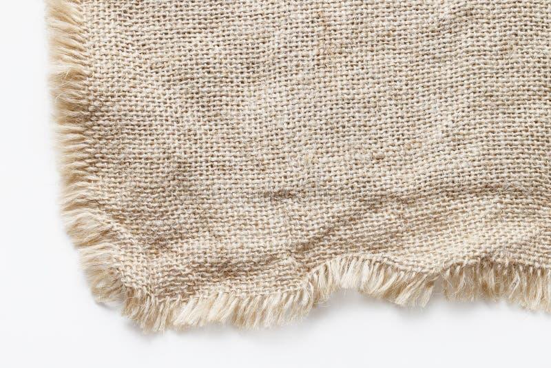 Fundo Jute Textil foto de stock royalty free