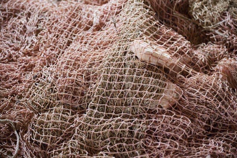 Fundo líquido feito a mão da pesca do mar imagem de stock royalty free